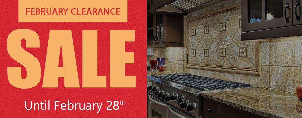 February Clearance Sale