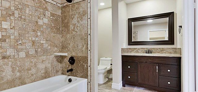 Beautiful Bathrooms with Granite Counters