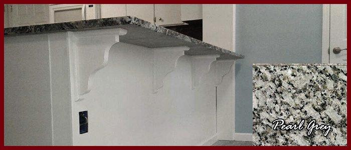 Design Spotlight Pearl Grey Quartz Kitchen Island Countertop
