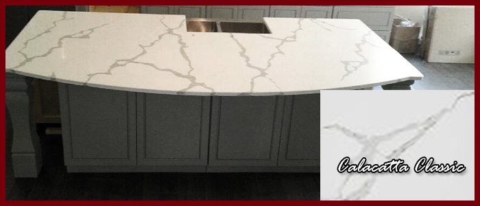 Affordable Quality Marble Granite Design Spotlight Large Kitchen Island And Countertops Featuring Calacatta Classic Quartz