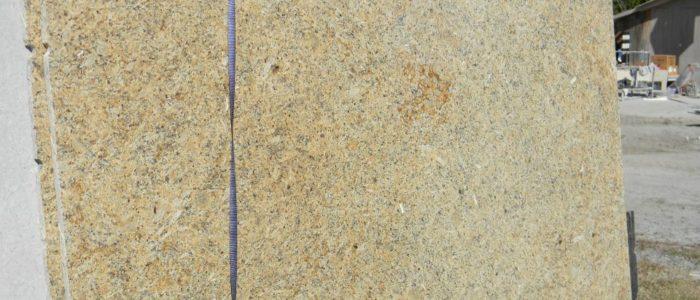 Golden Flower Dark Granite