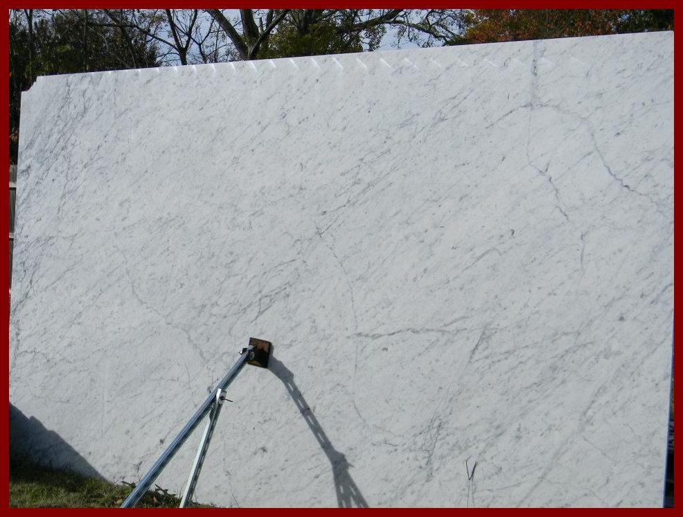White carrara marble counters for Carrara marble slab remnants