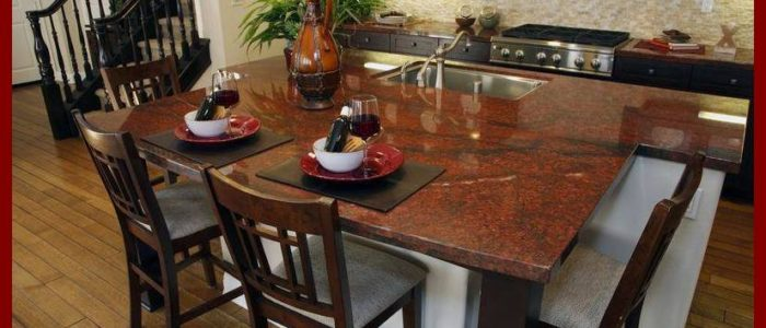 Red Hot Granite Countertops