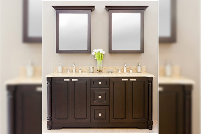 Affordable Quality Marble Granite Types Of Bathroom Cabinets