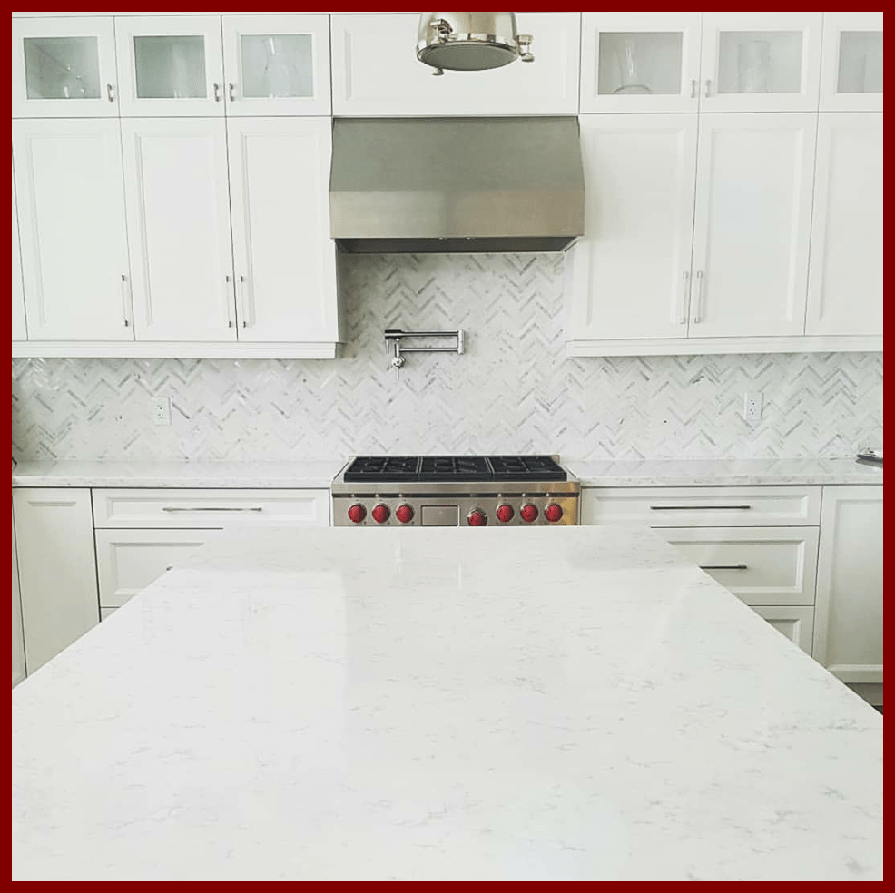 Affordable Quality Marble & Granite – All-White Kitchen, Keeping it ...